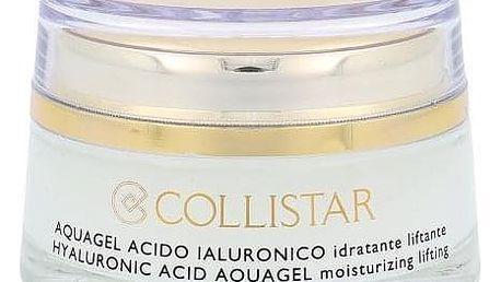 Collistar Pure Actives Hyaluronic Acid Aquagel 50 ml pleťový krém pro zpevnění pleti pro ženy