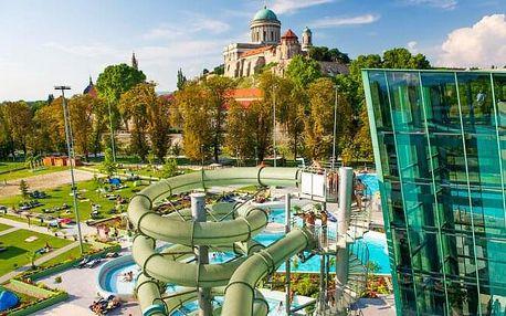 Ostřihom: Penzion Pod Bazilikou **** se vstupem do termálů, wellness, polopenzí a nápoji + slovenský personál