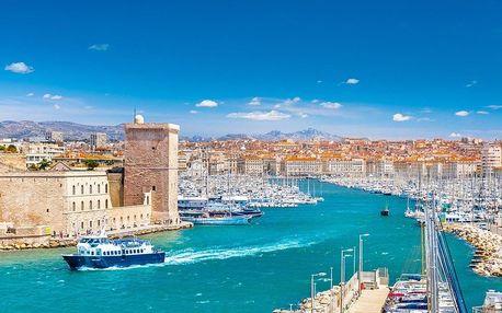 Putování kouzelnou Provence - Marseille, Cannes, Monako