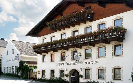 Rakousko - Horní Rakousko na 4 dny, all inclusive