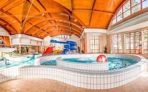 Maďarsko: Hotel Nefelejcs *** s neomezeným vstupem do wellness, půjčením kol, aktivitami a polopenzí