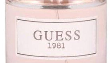 GUESS Guess 1981 100 ml toaletní voda tester pro ženy