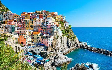 Cestování po Toskánsku s návštěvou Cinque Terre, Pisa i romantických vinic v San Gimignano