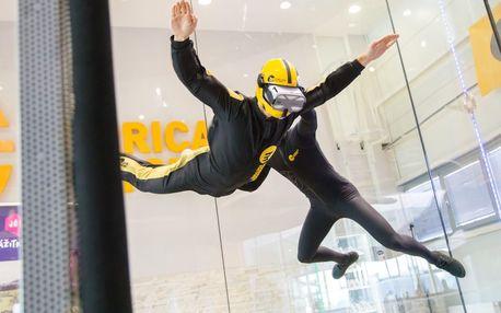 Neuvěřitelně realistický simulátor volného pádu ve virtuální realitě