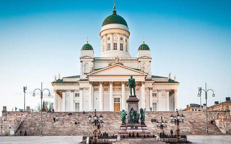 Expedice hlavními městy Pobaltí s návštěvou Helsinek