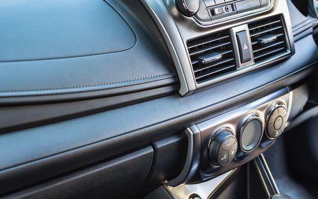 Geometrie vozidla nebo údržba klimatizace