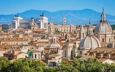 Jižní Itálie od Říma po Capri s výstupem na Vesuv