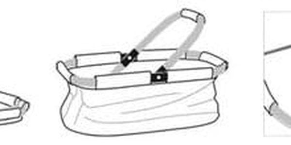 Tescoma Nákupní košík skládací SHOP! denim style2