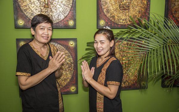 Thajská olejová masáž pro 2 osoby (60 min.)5