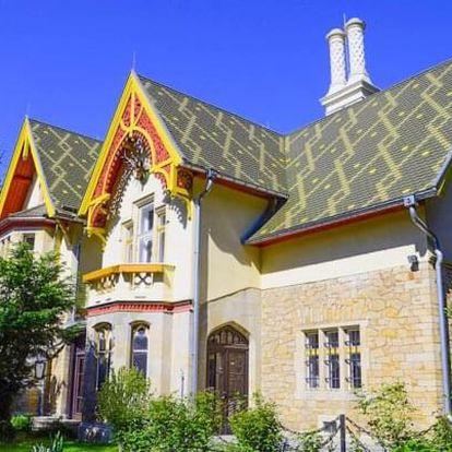 Pohádkový pobyt u Ostravy v Loveckém zámečku Šilheřovice se snídaní a slevou na golf + dítě do 6 let zdarma