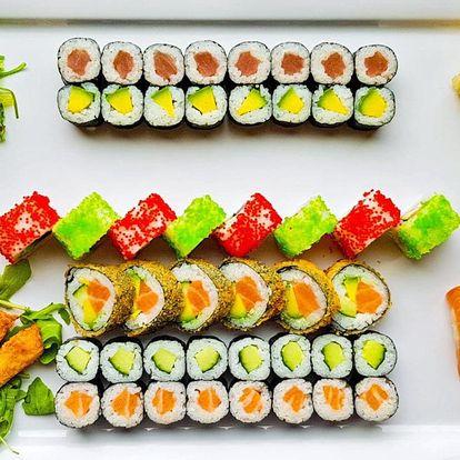 52 ks sushi: losos, tuňák i krevety v tempuře