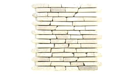 Divero Garth 9587 Mramorová mozaika - krémová obklady 1 ks - 30x30x0,8 cm