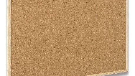 Nástěnka dřevěná Cork Board Eco - 60 x 80 cm