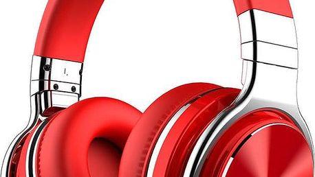 Sluchátka Cowin E7 PRO červená