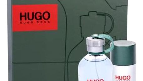 HUGO BOSS Hugo Man dárková kazeta pro muže toaletní voda 75 ml + deostick 75 ml
