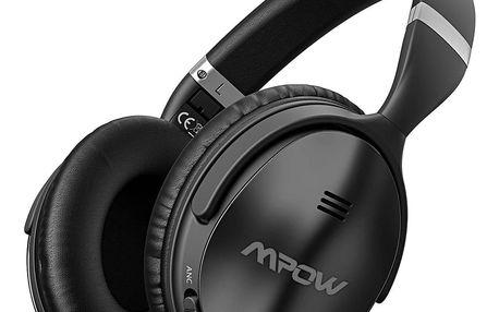 MPOW X4.0 - bezdrátová sluchátka, černá