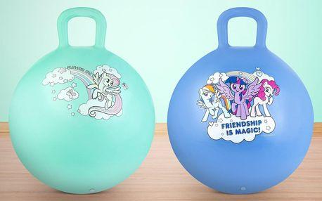 Velké skákací míče My Little Pony: zelený i modrý