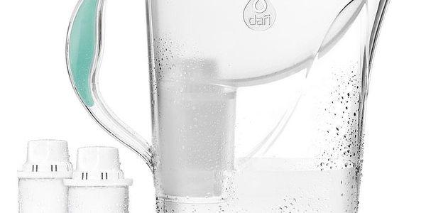 Dafi Filtrační konvice Atria, 2,4 l + 2 filtry Classic, zelená