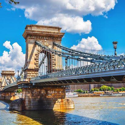 Okouzlující Budapešť + polopenze, fitness & mnoho dalšího - dlouhá platnost poukazu