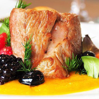 Ochutnejte 8chodové degustační menu pro dva