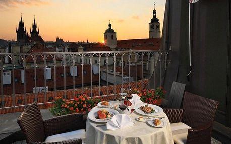 Pětihvězdičková dovolená s výhledem na Prahu v Grand Hotelu Bohemia***** v Praze