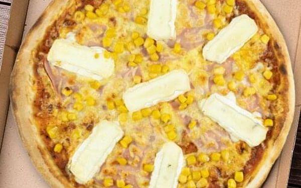 1 pizza (⌀ 24 cm) dle výběru4