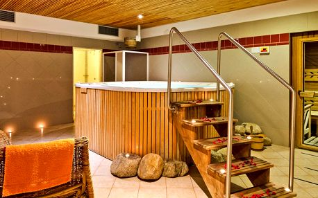 Pobyt v Krkonoších s jídlem i relaxem ve wellness