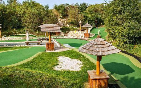 Celodenní vstupné na putting golf v Úžicích