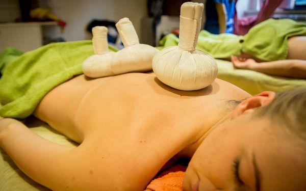 Výběr z masáží v délce 60 minut pro 2 osoby3