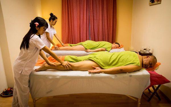 Výběr z masáží v délce 60 minut pro 2 osoby5