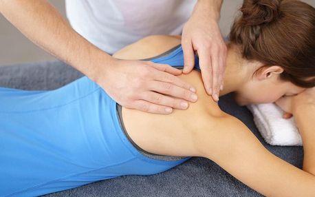 Relaxační masáž od nevidomého maséra