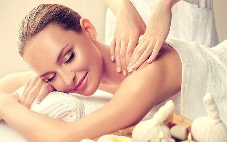 Částečná nebo celotělová masáž dle výběru