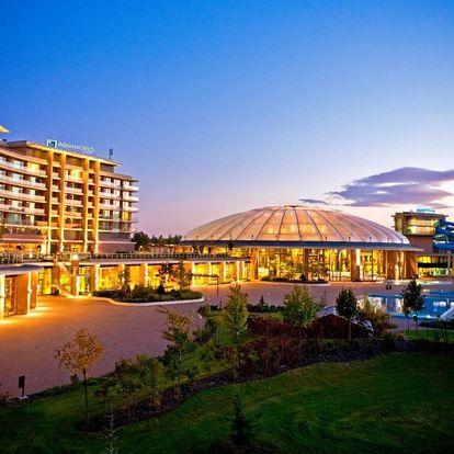 Welnes vikend pro dva v Aquaworld resortu v Budapešti