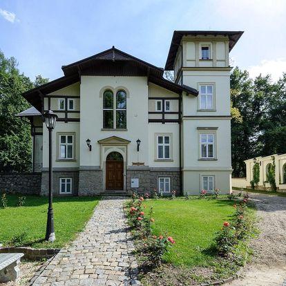 Parádní víkend pro dva v lázních Libverda na severu Čech