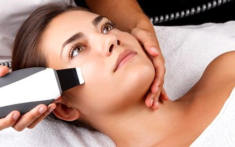 Nadupaný kosmetický balíček vč. masáže obličeje