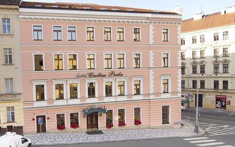 Vikend v 4 * hotelu Carlton se snídaní pro dva v Praze
