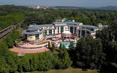 Dovolená v Therme SPA 5 * hotelu v Hevíz na 6 dní pro dvě osoby s polopenzí