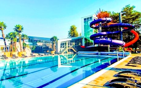 Turčianské Teplice: Hotel Rezident *** se vstupem do aquaparku, relaxačními procedurami a polopenzí