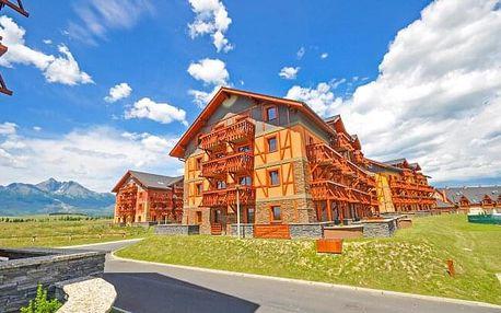 Vysoké Tatry v Tatragolf Mountain Resortu **** se slevou do AquaCity Poprad a vyžitím pro děti + dítě zdarma