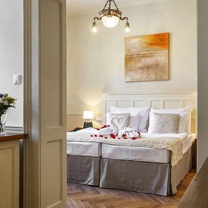 Luxusní dovolená s privátním wellness v hotelu Nautilus**** v Táboře