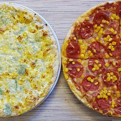 2 Rambo pizzy, výběr z mnoha druhů