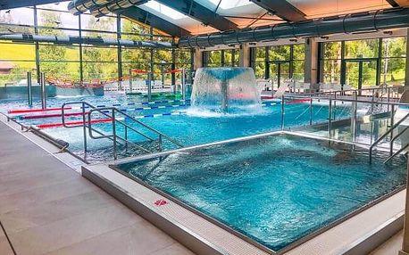 Beskydy poblíž nového Vodního světa, běžeckých stop i ski areálů v Horském hotelu Kyčerka *** s polopenzí