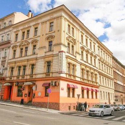 Praha blízko centra v rodinném Hotelu Anette *** s welcome drinkem a chutnou polopenzí