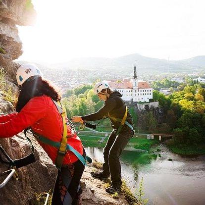 Dovolená s via ferratou Pastýřská stěna v Českém Švýcarsku od Active pointu