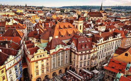 Pobyt ve 4* hotelu blízko centra Prahy, snídaně
