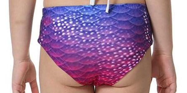 Kostým a plavky mořská panna MASTER Marína - 120 cm2