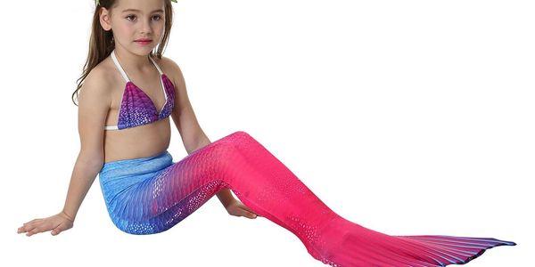 Kostým a plavky mořská panna MASTER Marína - 120 cm4