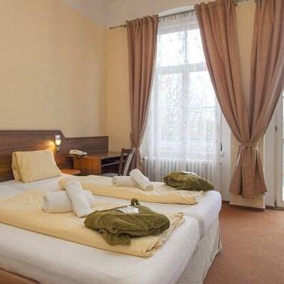 Františkovy Lázně: Hotel Sevilla *** s pivní koupelí, až 5 procedurami, neomezeným wellness a polopenzí