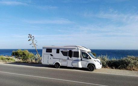 Chorvatsko v moderním karavanu od Anywhere Campers