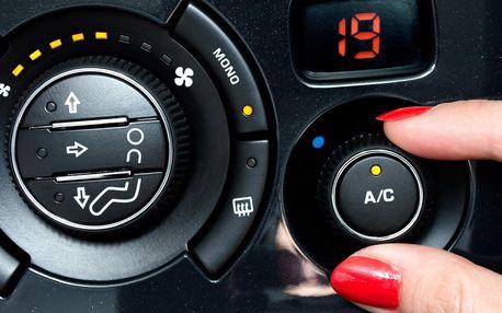 Kontrola a doplnění klimatizace automobilu